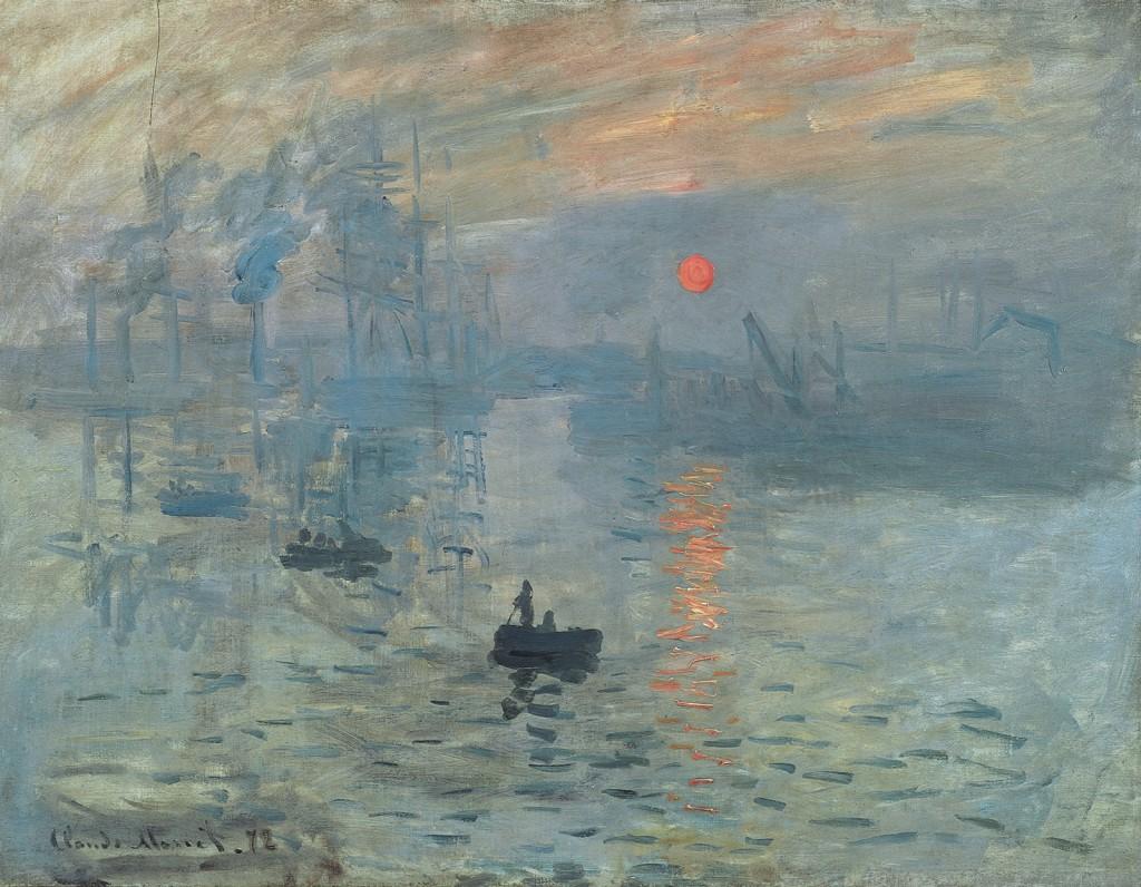 Impression sunrise Claude Monet
