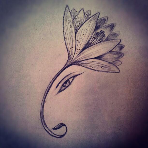 Ganesh tattoos 4
