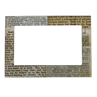 newspaper photoframe