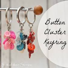 button keyring